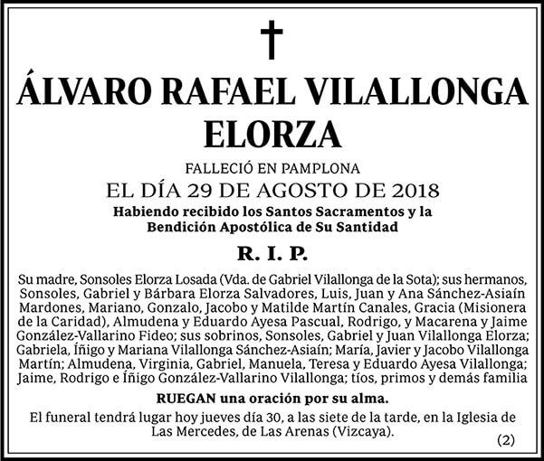 Álvaro Rafael Vilallonga Elorza